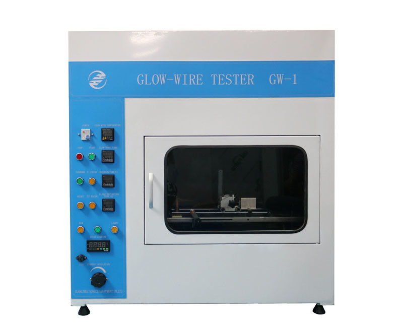 IEC60695-2-10 Glow Wire Tester Simulates The Thermal Stress Caused By The Heat Source Control